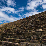 Some experts think than these Stairs located in the Monte Alban archaeological site use to be part of ritual of human sacrifice.
