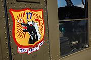 AirCav markings on UH-1 Iroquois at WAAAM.
