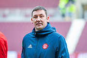 Martin Canning, manager of Hamilton Academical FC the Ladbrokes Scottish Premiership match between Heart of Midlothian FC and Hamilton Academical FC at Tynecastle Stadium, Edinburgh Scotland on 26 December 2018.