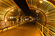 Dos Lagos Bamboo Bridge in Corona California