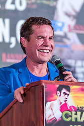 LOS ANGELES, California/USA (Friday, Aug 23 2013) - Boxing legend and hall of fame Pro boxer Julio Cesar Chavez Sr. attends the press conference at the Millenium Biltmore Hotel to announce the Chavez jr vs Vera fight next September 28 at the StubHub Center in Carson, CA. Los Angeles,CA USA. 29th August 2013. Fees must be agreed for image use. Byline, credit, TV usage, web usage or linkback must read: © SILVEXPHOTO.COM.