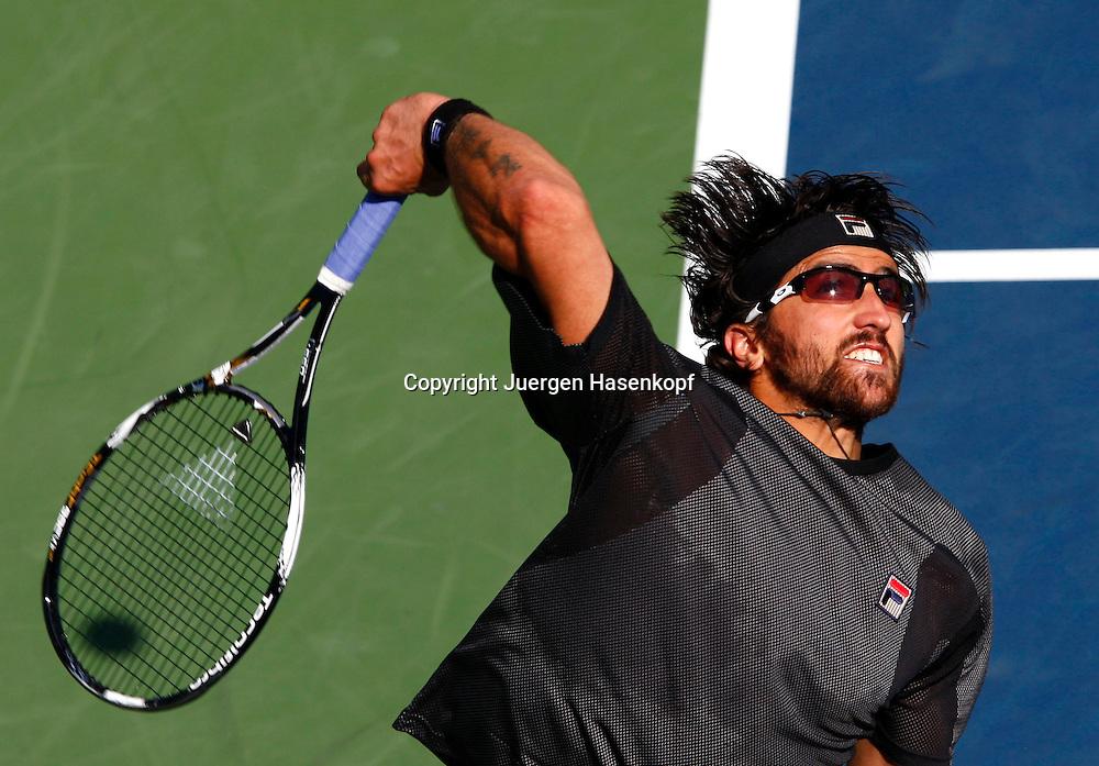 US Open 2010, USTA Billie Jean National Tennis.Center, NewYork,ITF Grand Slam Tennis Tournament . Janko Tipsarevic (SRB)