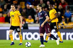 Henrikh Mkhitaryan of Arsenal - Mandatory by-line: Robbie Stephenson/JMP - 24/04/2019 - FOOTBALL - Molineux - Wolverhampton, England - Wolverhampton Wanderers v Arsenal - Premier League