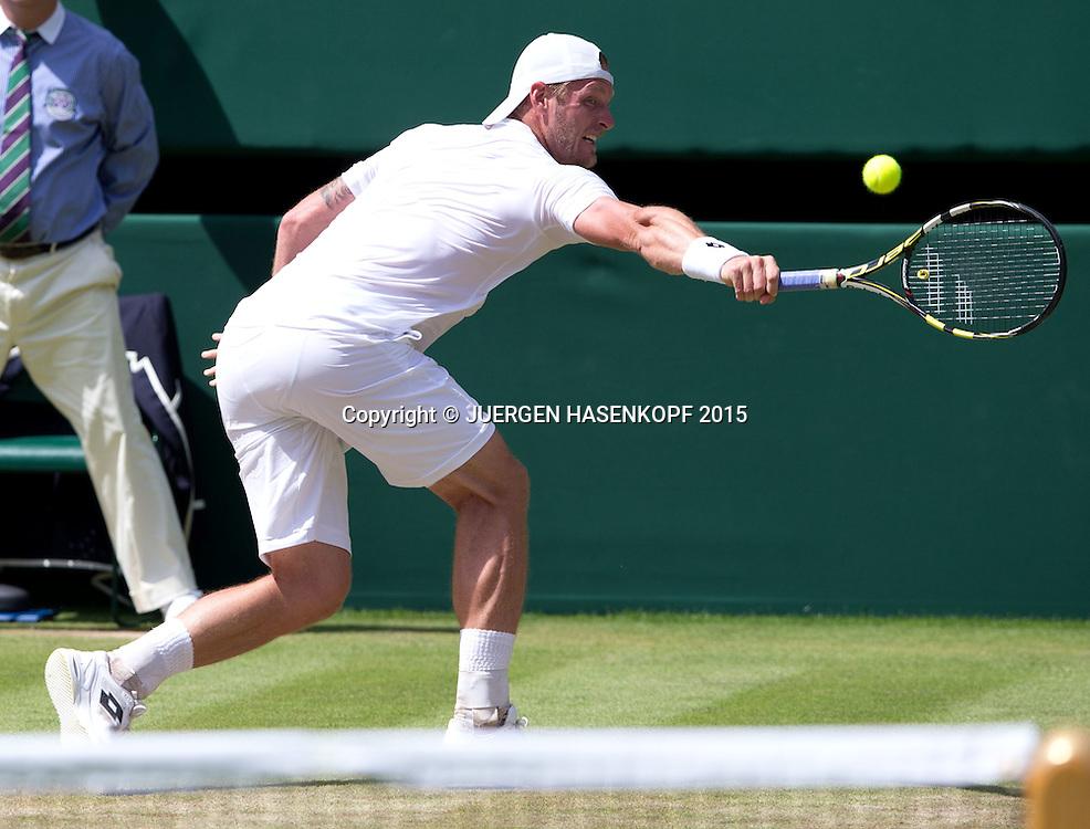 Samuel Groth (AUS)<br /> <br /> Tennis - Wimbledon 2015 - Grand Slam ITF / ATP / WTA -  AELTC - London -  - Great Britain  - 4 July 2015.