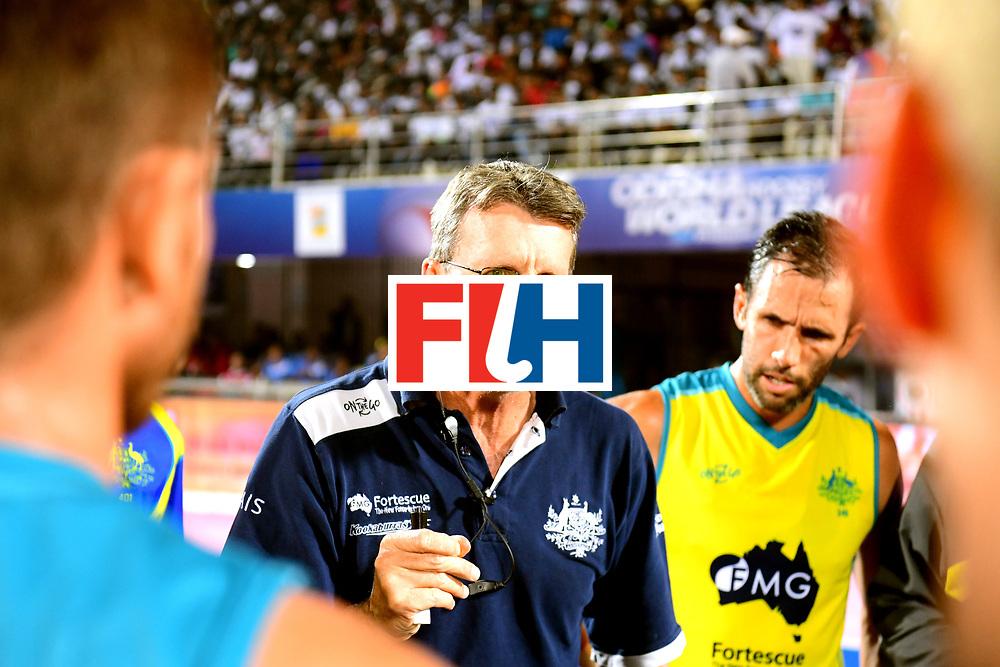 Odisha Men's Hockey World League Final Bhubaneswar 2017<br /> Match id:22<br /> Argentina v Australia Final<br /> Foto: coach Colin Batch (Aus) <br /> COPYRIGHT WORLDSPORTPICS FRANK UIJLENBROEK