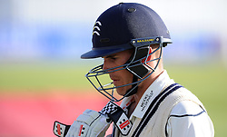 Middlesex's Neil Dexter - Photo mandatory by-line: Harry Trump/JMP - Mobile: 07966 386802 - 29/04/15 - SPORT - CRICKET - LVCC Division One - County Championship - Somerset v Middlesex - Day 4 - The County Ground, Taunton, England.