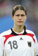 21 August 2008: Kerstin Garefrekes (GER). Germany's Women's National Team defeated Japan's Women's National Team 2-0 at the Worker's Stadium in Beijing, China in the Bronze Medal match in the Women's Olympic Football tournament.