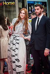 Karen Gillan and Stanley Weber.<br /> Closing night of EIFF gala screening of Not Another Happy Ending at the Festival Theatre.<br /> &copy;Michael Schofield.
