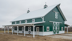 Quality Structures, Inc, LoneJack horse barn, November 2014