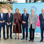 NLD/Apeldoorn/20190919 - Maxima bij bijeenkomst NLgroeit, Koningin Maxima met  Daniël Wigboldus, John Berends ·         Mevrouw Petra van Wingerden-Boers, Michiel Muller