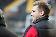 MK Dons manager Karl Robinson during the Sky Bet League 1 match between Notts County and Milton Keynes Dons at Meadow Lane, Nottingham, England on 26 December 2014. Photo by Jodie Minter.