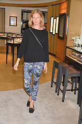 ELIZABETH von GUTTMAN at a private view of photographs by Astrid Munoz entitled Unbridled Synchrony hosted by  Jaeger-LeCoultre at their boutique at 13 Old Bond Street, London on 13th July 2015.