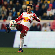 HARRISON, NEW JERSEY- November 06:  Salvatore Zizzo #15 of New York Red Bulls in action during the New York Red Bulls Vs Montreal Impact MLS playoff match at Red Bull Arena, Harrison, New Jersey on November 06, 2016 in Harrison, New Jersey. (Photo by Tim Clayton/Corbis via Getty Images)