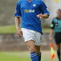St Johnstone...2003-04<br />Ian Maxwell<br /><br />Picture by Graeme Hart<br />Perthshire Picture Agency<br />Tel: 01738 623350 / 07990 594431