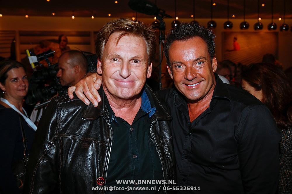 NLD/Amsteram/20121024- Presentatie biografie Joop van den Ende, Henny Huisman en Gerard Joling