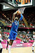 TDESCRIZIONE : France Basket Jeux Olympiques Londres <br /> GIOCATORE : TURIAF Ronny FRA<br /> SQUADRA : France Homme<br /> EVENTO : FRANCE basket Jeux Olympiques<br /> GARA : FRANCE USA<br /> DATA : 29 07 2012<br /> CATEGORIA : Basketball Jeux Olympiques<br /> SPORT : Basketball<br /> AUTORE : JF Molliere <br /> Galleria : France JEUX OLYMPIQUES 2012 Action<br /> Fotonotizia : France Basket Homme Jeux Olympiques Londres premier tour France Usa<br /> Predefinita :