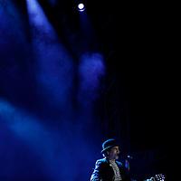 VALLE DE BRAVO, México.- El cantautor y poeta español Joaquín Sabina se presento con gran éxito  en el Festival Cultural de las Almas, en donde su público coreo varios de sus éxitos,  compartiendo una gran velada. Agencia MVT / Crisanta Espinosa. (DIGITAL)