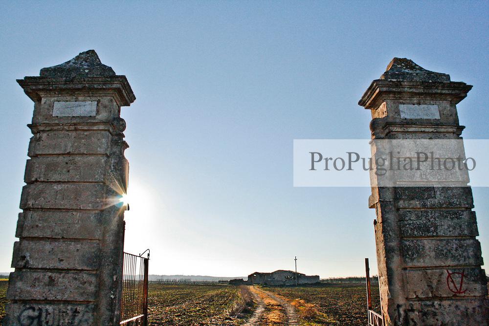 Masseria Luciani, ubicata nelle campagne di Acquaviva delle Fonti, provincia di Bari.