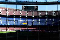 Illustration Camp Nou - Pub Nike Cache - 21.04.2015 - Barcelone / Paris Saint Germain - 1/4Finale Retour Champions League<br />Photo : Dave Winter / Icon Sport