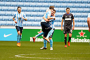 Coventry City Midfielder John Fleck celebrates his goal during the Sky Bet League 1 match between Coventry City and Bury at the Ricoh Arena, Coventry, England on 13 February 2016. Photo by Dennis Goodwin.