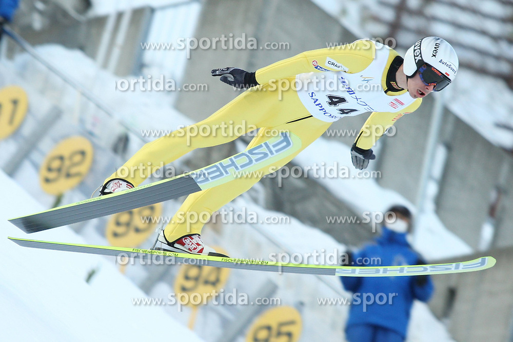 27.01.2012, Miyanomori-Schanze, Sapporo, JPN, FIS Ski Sprung Weltcup, Sapporo, im Bild PIOTR ZYLA // during FIS Skijumping World Cup in Sapporo at the Miyanomori Hill, Japan, 2012/01/27. EXPA Pictures © 2012, PhotoCredit: EXPA/ Newspix/ ATTENTION - for AUT, SLO, CRO, SRB, SUI and SWE only *****