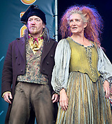 West End Live 2018 <br /> Trafalgar Square, London, Great Britain <br /> 16th June 2018 <br /> <br /> Excerpts from West End musicals perform live on stage in Trafalgar Square, London <br /> <br /> Les Miserables <br /> <br /> Photograph by Elliott Franks