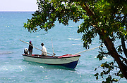 Fishing off Treasure Beach - Jamaica