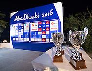 Gala Dinner Venues<br /> FINA High Diving World Cup 2016<br /> Abu Dhabi Sailing and Yacht Club <br /> Corniche Breakwater -Abu Dhabi - U.A.E.<br /> Day0  26 Feb.2016<br /> Photo G.Scala/Insidefoto/Deepbluemedia