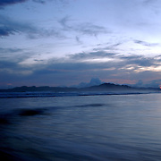 Sunset in Cane Island. Los Santos, Panama