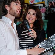 NLD/Amsterdam/20121029 - Boekpesentatie 'Het alles is Familie Kookboek', Benja Bruijning  Kim van Kooten