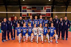 01-04-2017 NED:  CEV U18 Europees Kampioenschap vrouwen dag 1, Arnhem<br /> Rusland - Italie 0-3 / Team Italie