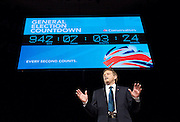Conservative Party Conference, ICC, Birmingham, Great Britain <br /> Day 1<br /> 7th October 2012 <br /> <br /> <br /> Rt Hon Grant Shapps MP<br /> Chairman of the Conservatives <br /> <br /> with general election countdown <br /> <br /> <br /> <br /> Photograph by Elliott Franks<br /> <br /> Tel 07802 537 220 <br /> elliott@elliottfranks.com<br /> <br /> ©2012 Elliott Franks<br /> Agency space rates apply
