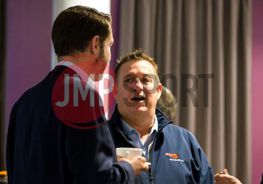 Guests mingle at the Big Breakfast - Mandatory by-line: Robbie Stephenson/JMP - 27/05/2016 - PR - Ashton Gate - Bristol, England - Bristol Sport Big Breakfast Alec Stewart