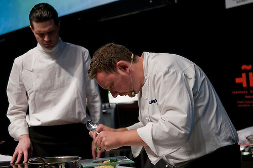 spanish chef albert adria of restaurant el bulli in northern spain was in beijing at ucca