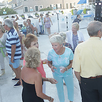People enjoyed music by The Imitations during Lumina Daze Sunday August 24, 2014 at The Blockade Runner in Wrightsville Beach, N.C. (Jason A. Frizzelle)