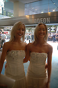 "Rosie and Susie Millen. The UK Premiere of ""The Island"" at the Odeon Leicester Square, London. 7 August 2005. , ONE TIME USE ONLY - DO NOT ARCHIVE  © Copyright Photograph by Dafydd Jones 66 Stockwell Park Rd. London SW9 0DA Tel 020 7733 0108 www.dafjones.com"