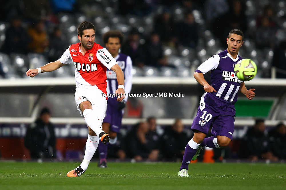 Joao Moutinho - 05.12.2014 - Toulouse / Monaco - 17eme journee de Ligue 1 -<br />