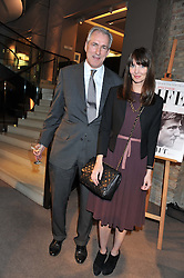 JEREMY KING and LAUREN GURVICH at the launch party for Spectator Life hosted by Andrew Neil at Asprey, 167 New Bond Street, London on 28th March 2012.