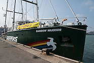 The Rainbow Warrior is touring South Korea