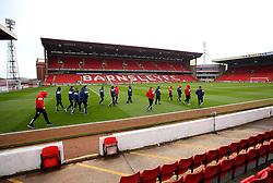 Bristol City arrive at Barnsley - Mandatory by-line: Robbie Stephenson/JMP - 30/03/2018 - FOOTBALL - Oakwell Stadium - Barnsley, England - Barnsley v Bristol City - Sky Bet Championship