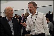 PETER SIMON; SIR NICHOLAS SEROTA, Opening of Frieze art Fair. London. 14 October 2014