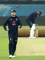 England's Chris Woakes during a nets session at Headingley, Leeds. PRESS ASSOCIATION Photo. Picture date: Wednesday May 30, 2018. See PA story CRICKET England. Photo credit should read: Tim Goode/PA Wire. RESTRICTIONS: Editorial use only. No commercial use without prior written consent of the ECB. Still image use only. No moving images to emulate broadcast. No removing or obscuring of sponsor logos.
