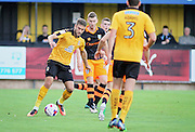 Cambridge Utd forward Ben Williamson during the EFL Cup match between Cambridge United and Sheffield Wednesday at the R Costings Abbey Stadium, Cambridge, England on 9 August 2016. Photo by Nigel Cole.