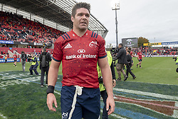 October 20, 2018 - Limerick, Ireland - Billy Holland of Munster during the Heineken Champions Cup match between Munster Rugby and Gloucester Rugby at Thomond Park in Limerick, Ireland on October 20, 2018  (Credit Image: © Andrew Surma/NurPhoto via ZUMA Press)