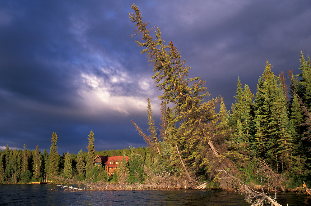 Clearwater Lake Lodge on Clearwater Lake, Chilcotin Country,British Columbia,Canada