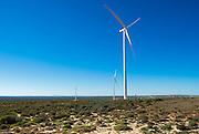 landscape of the Sere Wind Farm