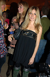 A party hosted by Mario Testino, Bianca Jagger and Kenneth Cole in collaboration with UNFPA and Marie Stopes International to celebrate the publication of Women to Woman: Positively Speaking - a book to raise awareness of women living with HIV/Aids, held at The Orangery, Kensington Palace, London on 2nd December 2004.<br />Picture shows:- SIENNA MILLER.<br /><br /><br />NON EXCLUSIVE - WORLD RIGHTS