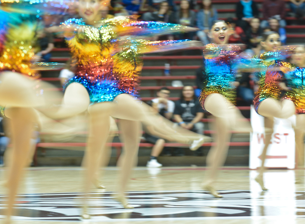 State Spirit Championships at The Pit in Albuquerque, N.M., Saturday, March 25, 2017. (Marla Brose/Albuquerque Journal)