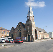 Christ Church, Lowestoft, Suffolk, England is Britain's most easterly church