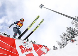 16.12.2017, Nordische Arena, Ramsau, AUT, FIS Weltcup Nordische Kombination, Skisprung, im Bild Johannes Rydzek (GER) // Johannes Rydzek of Germany during Skijumping Competition of FIS Nordic Combined World Cup, at the Nordic Arena in Ramsau, Austria on 2017/12/16. EXPA Pictures © 2017, PhotoCredit: EXPA/ Martin Huber